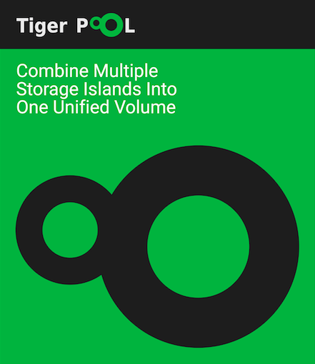 Tiger Pool for storage clustering and pooling